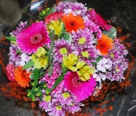 Vibrant Handited Bouquet