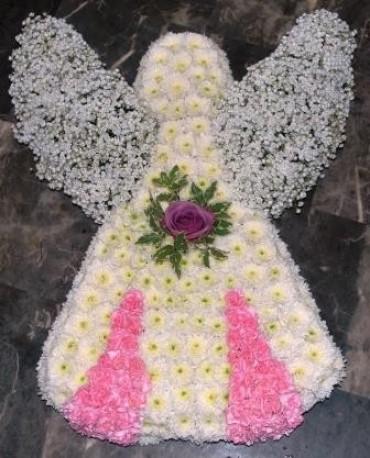 Angel in Flowers