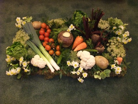 Vegetable Patch Funeral Tribute
