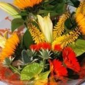 Contemporary Bouquet Yellow