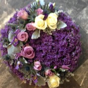 Purple Posy Pad