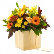 Yellow and Orange Aqua Bouquet